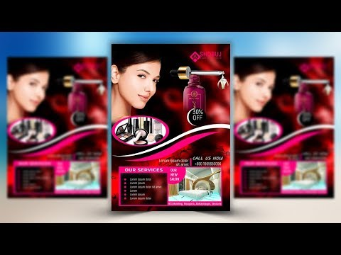 How To Create A Beauty Salon Promotional In Photoshop Mp3