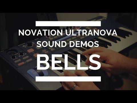 Novation Ultranova - Bells Demo - EVERY SOUND!