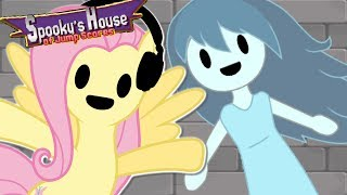 Fluttershy plays Spooky's House of Jumpscares