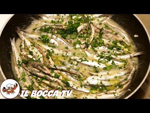 60 - Acciughe alla marinara..a mangiarle si fa a gara..:) (secondo piatto facile buono ed economico)