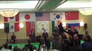 World Cup Finals 2015: Team Red Dragon Grand Championship Performance on Saturday, January 17th