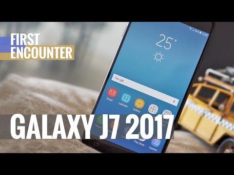 Samsung Galaxy J7 (2017) first encounter