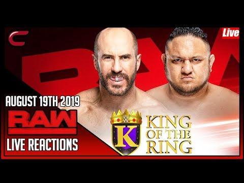 WWE RAW August 19th 2019 Live Stream: Live Reaction Conman167