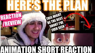 Here's the Plan - Animated Short Film (REACTION) THIS STORY REALLY SPEAKS FROM THE HEART