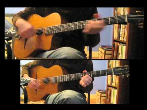 """Honey Pie"" Beatles gypsy jazz guitar"