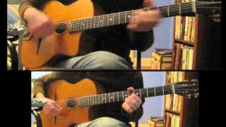 """Honey Pie"" Beatles gypsy jazz guitar"