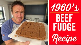 1960's Beef Fudge Recipe