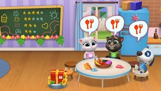 My Talking Tom Friends - Gameplay: #DAY6 Breakfast Together (Android, iOS)