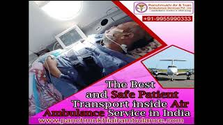 Book an Emergency Air Ambulance in Delhi