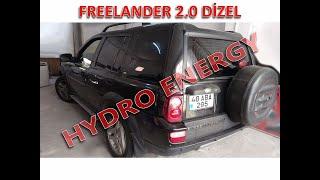 Freelander hidrojen yakıt sistem montajı