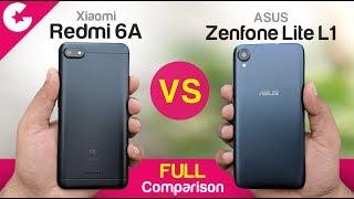 Asus Zenfone Lite L1 vs Xiaomi Redmi 6A (Full Comparison)