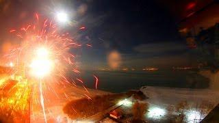 Tűz és jég - befagyó Balaton - Szilveszteri különkiadás