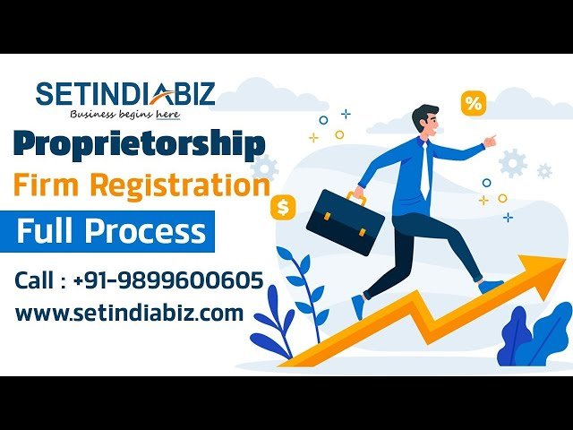 Step-Wise Process to Start a Sole Proprietorship Business