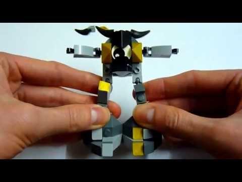 Vidéo LEGO Mixels 41504 : Seismo
