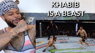 Khabib Nurmagomedov - Journey to UFC Champion | Reaction