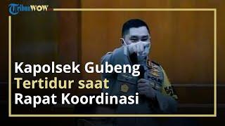 Kapolsek Gubeng Diusir oleh Kapolda Jatim Lantaran Mengantuk, Kabid Humas: Hanya Ditegur