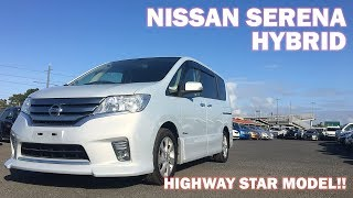 2013 Nissan Serena Highway Star Review