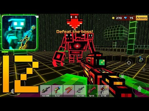 Pixel Gun 3D Pixel Gun 3D - Gameplay Walkthrough Part 12 - Campaign World 3