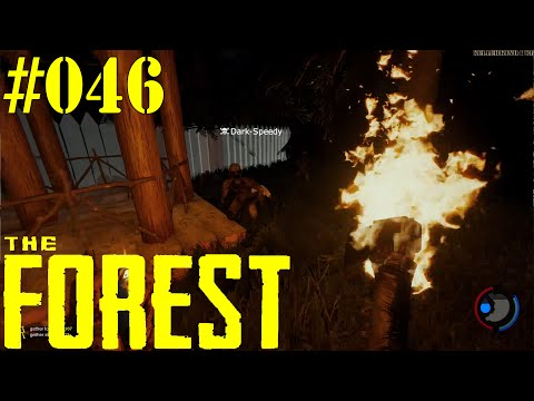 THE FOREST [HD|60FPS] #046 - LPT - Massenschlacht im Camp ★ Let's Play Together The Forest