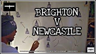 Tactics board   Brighton v Newcastle United