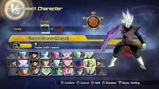 Dragon Ball Xenoverse 2 All Characters Slots + DLC Mod Packs (Addon Slots)