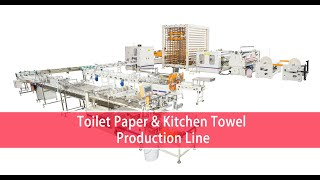 1350mm Wallboard type Selling Best Toilet Tissue Paper Making Machine Toilet Roll Manufacturing youtube video