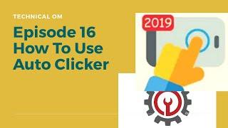 How to use Auto clicker