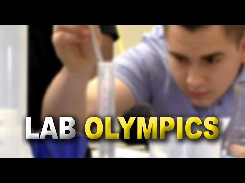 Video: Summer Students Learn Lab Basics in Olympic-Style Competition