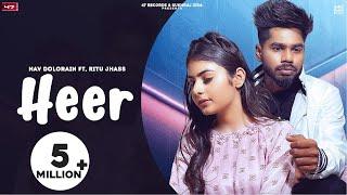 Heer Lyrics | Nav Dolorain, Ritu Jhass