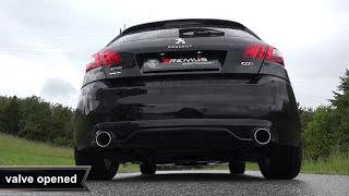 Video: Remus Sportauspuff mit Klappensteuerung für Peugeot 308 GTI