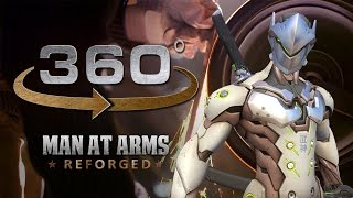 Grinding Genji's Sword in 360° (2/4) – Overwatch – MAN AT ARMS: REFORGED