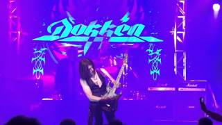 Dokken- Sunless Days Los Angeles California 2016