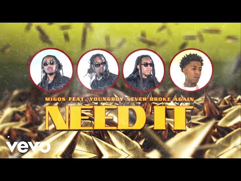 Migos - Need It (Visualizer) ft. YoungBoy Never Broke Again