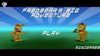 Fredbear's Big Adventure - Сложный Босс