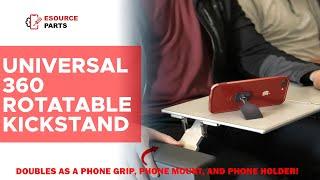 Universal 360 Rotatable Kickstand & Grip Mobile Cell Phone holder