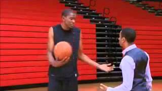 """Kevin Durant Movie """"Thunderstruck"""" - Alan and Kevin Durant Gym Scene"""