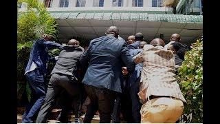 Chaos as Nairobi MCAs clash again - PHOTOS & VIDEO