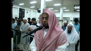 preview picture of video 'Quran Reciting during Kiyamul Lail by Sheikh Hafis Mohamed Haris, Masjid in Jubail, Saudi Arabia'