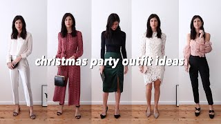CHRISTMAS PARTY OUTFIT IDEAS - Five Outfits For The Festive Season | Mademoiselle