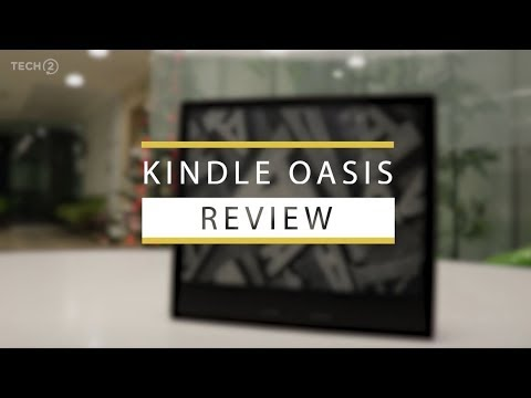 Amazon Kindle Oasis 2017 Review