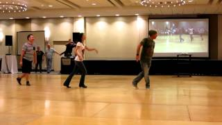Cliche Love Song ~ Line Dance - Demo by Jo Thompson, Guyton Mundy & John Robinson @ 2015 WCLDM