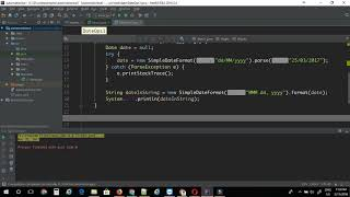 Switching Date format in java