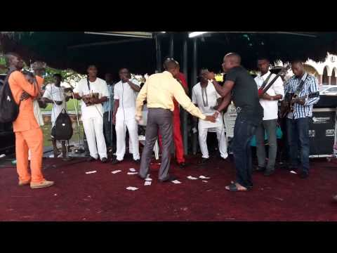 Segun NABI live on stage at ilesa