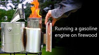 Running a Gasoline Engine on Firewood | Woodgas Biofuel