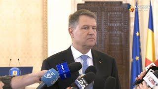 Iohannis: Nu mi-a fost și nu-mi este teamă de suspendare