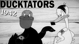 The Ducktators | World War 2 Era Propaganda Cartoon | 1942