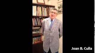 Joan B. Culla ens comenta el curs de l'associació cultural Cetres