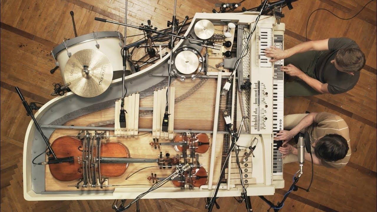 Супер рояль с 20-ю встроенными инструментами