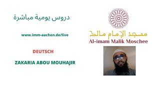 Zakaria Abou Mohajir (Die Gebets-Bedingungen)