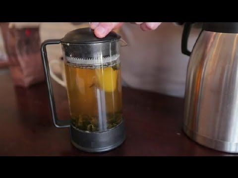 How to Use a Tea Press : Teas